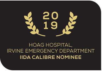 2019 Hoag Hospital IIDA Calibre Nominee